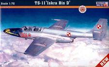 PZL Ts 11 Iskra bis D (polaco & Indian Af marcas) 1/72 Mastercraft