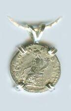 AD194 Roman Silver Denari Emperor Severus Prosperity Goddess Fortuna Emesa Syria
