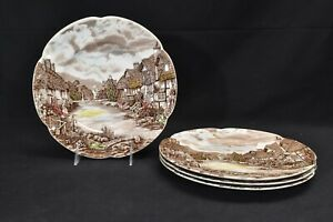 Johnson-Brothers-Olde-English-Countryside-Set-of-4-Dinner-Plates
