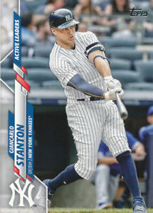 Giancarlo Stanton 2020 Topps Update Series #U-288 Yankees Card