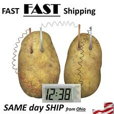 1x Potato Clock Toy Set Students Educational Experiment Equipment Brain Game Toy