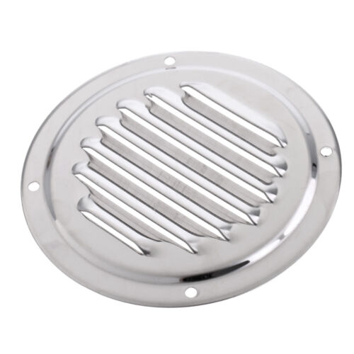 Heavy Duty Stainless Steel Round Louvered Air Vent for Marine Boat Yacht