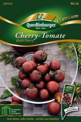 Cherry-Tomate Black cherry Quedlinburger Saatgut