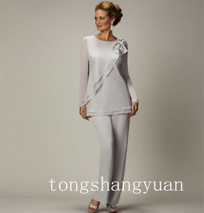 Long-Sleeve-Elegant-Pants-Suit-Mother-Of-The-Bride-Dresses-Chiffon-Custom-Newest