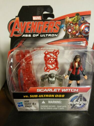 Marvel Avengers Age of Ultron Scarlet Witch VS Sous-Ultron 008 2.5 inch Figure
