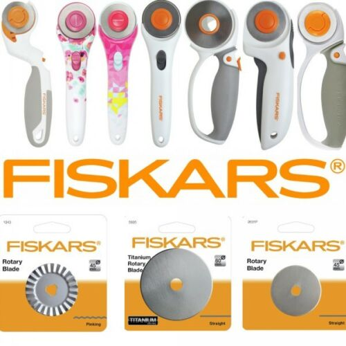 Fiskars Rotary Cutter 45mm /& 60mm Also Replacement Blades