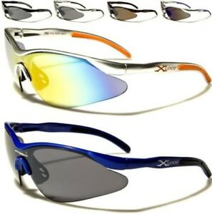 627fde76466 SPORTS X-LOOP SUNGLASSES BIG WRAP SEMI-RIMLESS RUNNING CYCLING GOLF ...