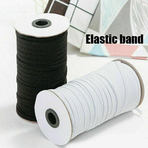 200 Yards Length DIY Braided Elastic Band Cord Knit Band Sewing 1//8 inch