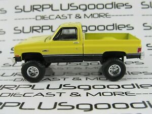 Greenlight-1-64-LOOSE-Lifted-1987-GMC-HIGH-SIERRA-Squarebody-Pickup-w-Tow-Hitch