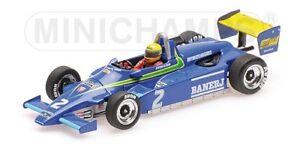 Minichamps 547824302 - Ralt Toyota Rt3 Senna - 1er F3 sous Thruxton 1982 1/43