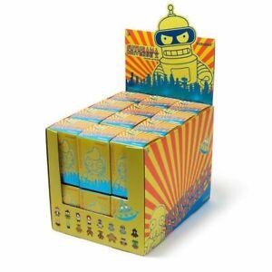 Futurama-Mini-Blind-Box-Series-by-Kidrobot-w-Display-Case-24-pcs-SEALED-NEW