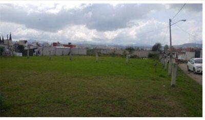 Terreno en Venta Villa Albertina al sur de la Ciudad de Puebla