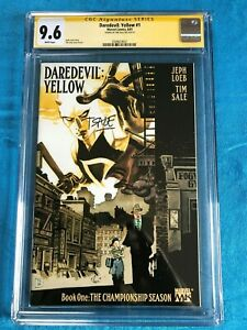 Daredevil-Yellow-1-Marvel-CGC-SS-9-6-NM-Signed-by-Tim-Sale