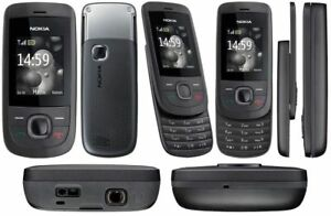 New-Condition-Nokia-2220-Slide-Graphite-Unlocked-Camera-easy-to-use-Mobile-Phone