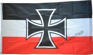 Germany-Naval-Jack-1871-1919-FLAG-german-Banner-90x150cm-5ftx3ft