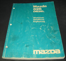 Werkstatthandbuch Mazda 626 Diesel Typ GC Motor Elektrik Bremsen Getriebe 1983!