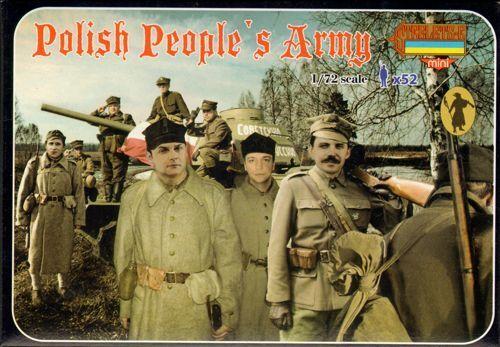 Strelets 1/72 Polierung People's Armee #M095 Zweiter Weltkrieg