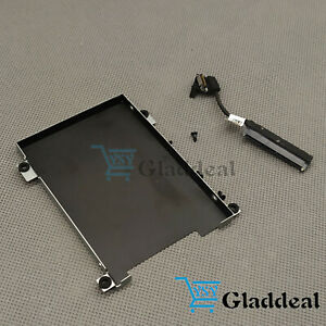 NEW-Dell-Latitude-5490-5491-5480-HDD-Cable-80RK8-Caddy-Frame-Bracket-0NDT6-US