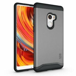 the best attitude 3fc97 d4e48 Details about TUDIA Slim-Fit MERGE Dual Layer Protective Cover Case for  Xiaomi Mi Mix 2