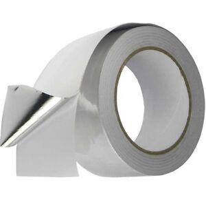 Conducto de Plata 3 Rollos de Cinta de Aluminio Autoadhesivo 50MM X 50M de aislamiento térmico  </span>