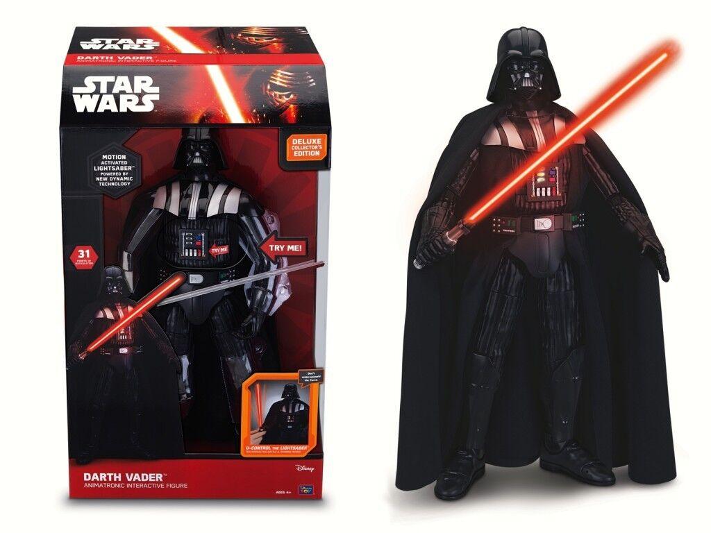 Star Wars Darth Vader Interactive Figure - Brand New - sound voice
