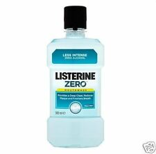 LISTERINE Colluttorio Zero Mild Mint 500ml