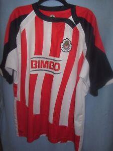 a34f4429f37 Image is loading Chivas-C-D-Guadalajara-soccer-futbol-Kamanaco-home-jersey-