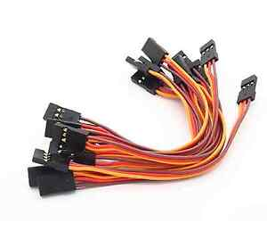 3-trozo-servo-alargador-Patch-30cm-cable-male-prorroga-jr-Graupner