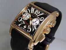 Franck Muller Cortez Conquistador 10000 CC Chrono 18k Rose Gold 41mm $40600 LNIB