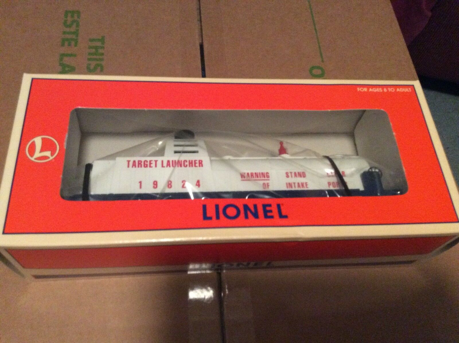 Lionel 3470 Aerial US Army  Target Launcher 619824 New in box