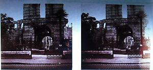 Fotografie Die Ruinen Von das Amphitheater Palast Gallienus Bordeau Um 1920