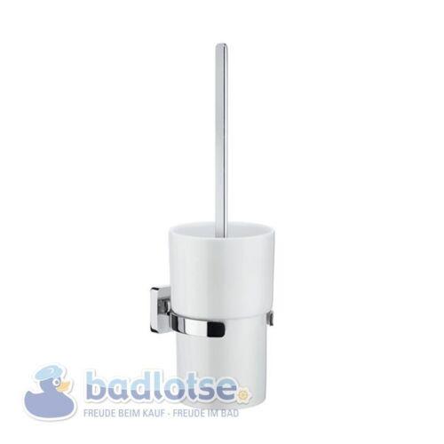Smedbo Ice wc-brosses salon porcelaine support mural chrome brillant ok333p