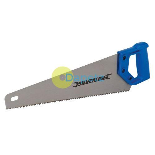 Hardpoint Scie 400 mm 7Tpi bois de coupe scie à main Menuiserie Charpenterie Bricolage