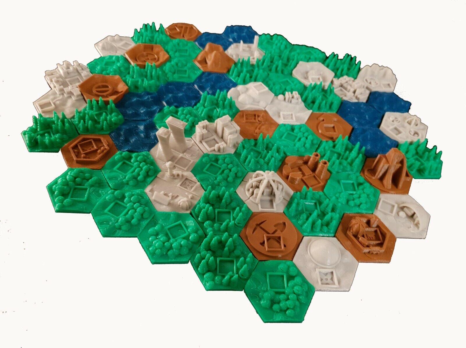 Terraformación Mars 3d-upgrade plena envase 66 piezas
