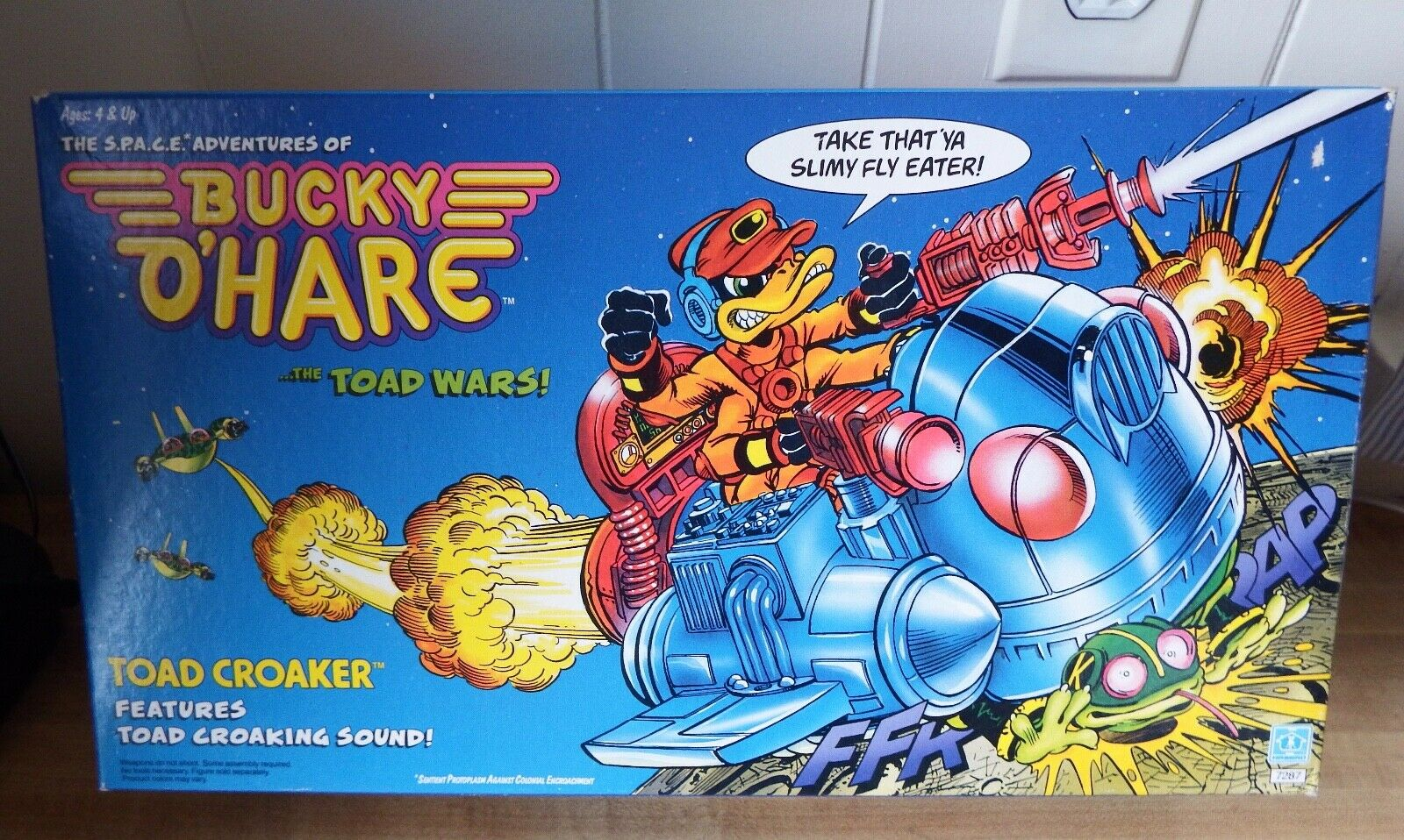 Hasbro BUCKY OHARE The Toad Wars TOAD CROAKER VEHICLE with TOAD CROAKING SOUND