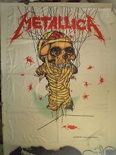 METALLICA  rare TEXTILE POSTER FLAG 2000  metal thrash slayer anthrax lp t shirt