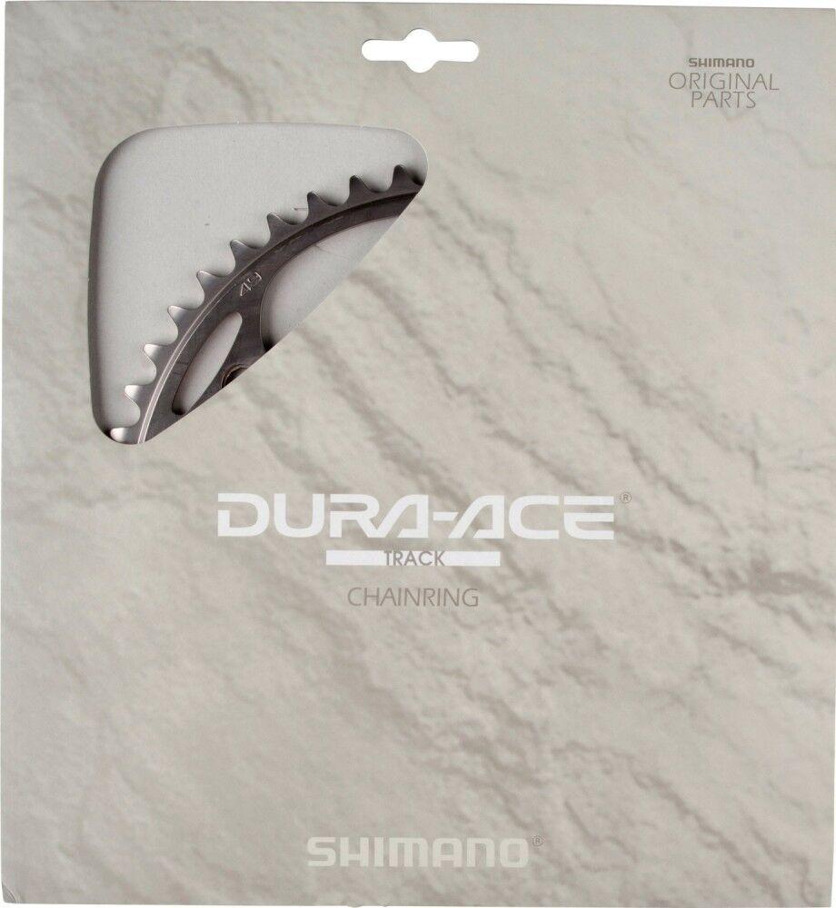 Shimano Dura-Ace Pista FC-7710 49T 1 2  X 1 8  Cadena ( Njs ) Y16s49001 Frontal
