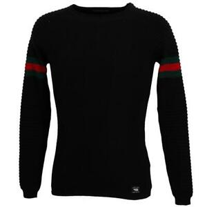 Pull fin Paname brothers Paname 005 black pull Noir 90527 - Neuf