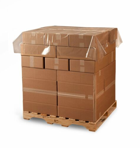 """Pallet Top Sheets 1.25 mil 250 per Roll LD5984 60/"""" x 60/"""" Clear Poly Sheeting"""