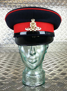 Genuine British Army Royal Corps of Signals Dress Hat with Badge All sizes