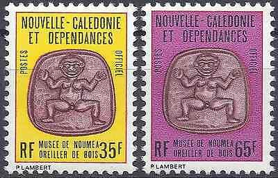 Neues Caledonia Dienst Nr.35/36 Neuf Luxe Originale Gummi Frankreich & Kolonien