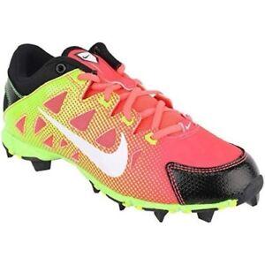 Nike Girls Softball Baseball Cleats PINK NEON Hyperdiamond Keystone GS CHOOSE SZ