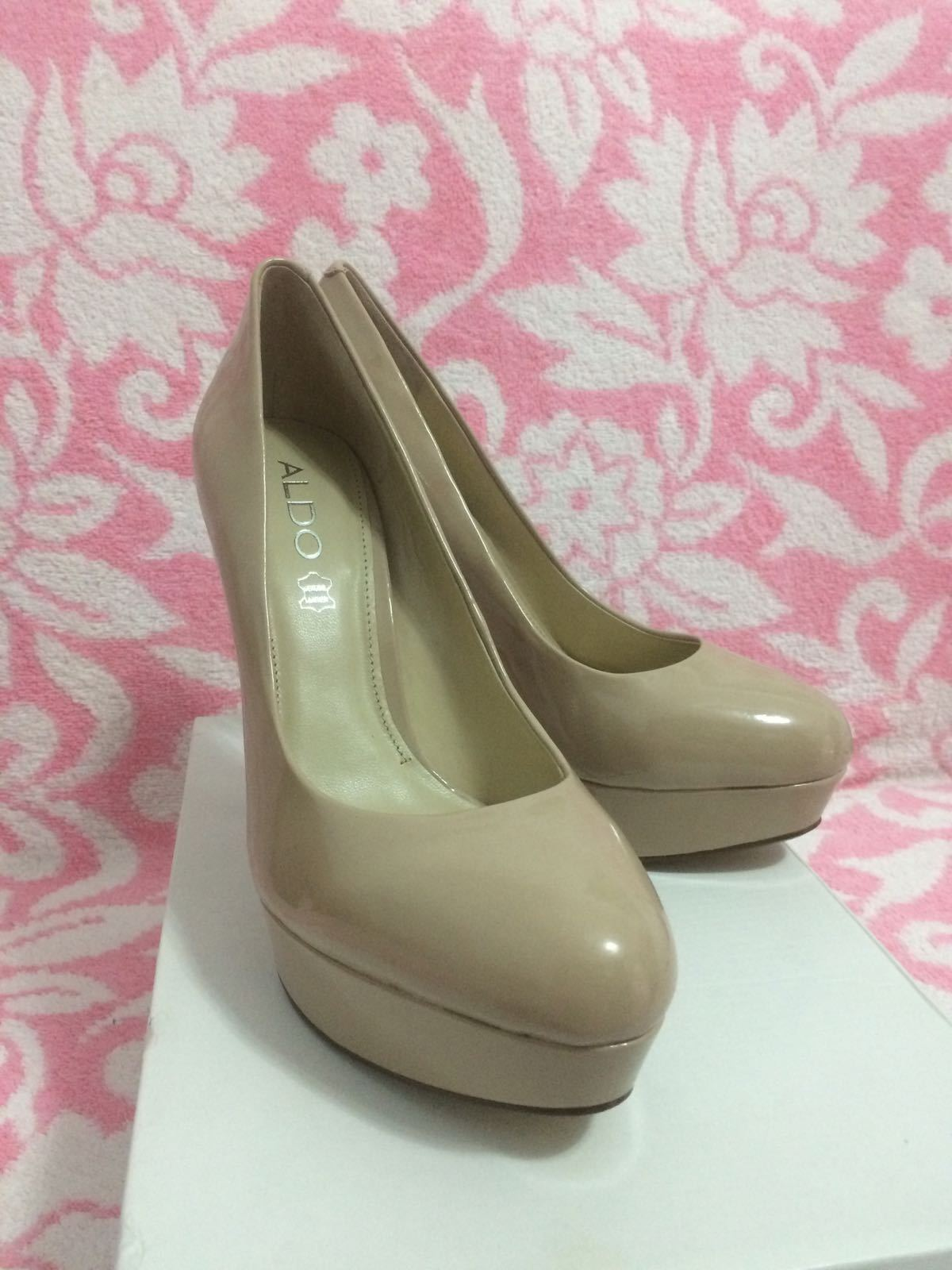 ALDO MONIER NUDE PUMPS UK6 HEELS - SIZE US9/ UK6 PUMPS / EU39 - NEW IN A BOX d8961a