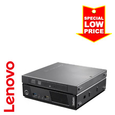 Lenovo ThinkCentre Tiny PC(Intel Core i7 4765T, 8GB RAM, 180GB SSD, DVDRW, WiFi)
