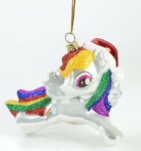 My-Little-Pony-Rainbow-Glass-Christmas-Ornament-NEW
