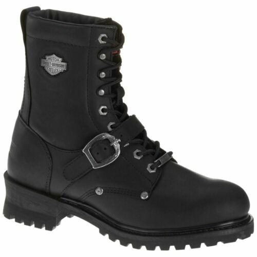 Harley Davidson Men/'s Faded Glory Black Riding Boots D91003