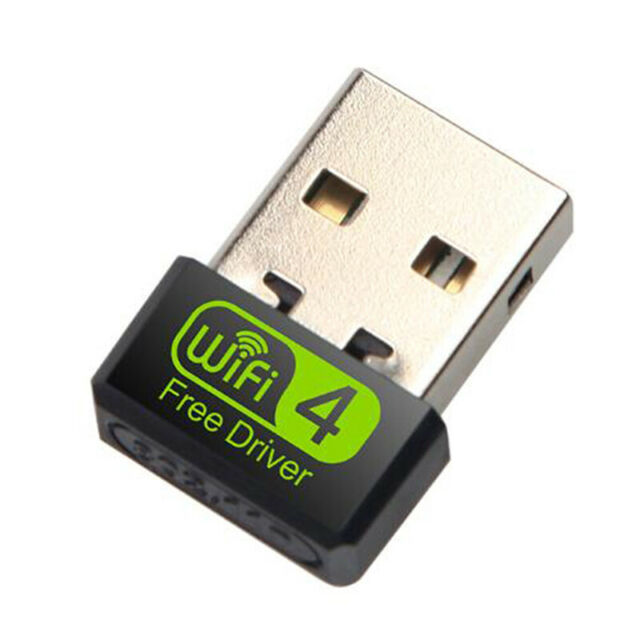 150Mbps Wireless USB Ethernet PC WiFi AC Adapter Lan 802.11 Dual Band 2.4G BRP3