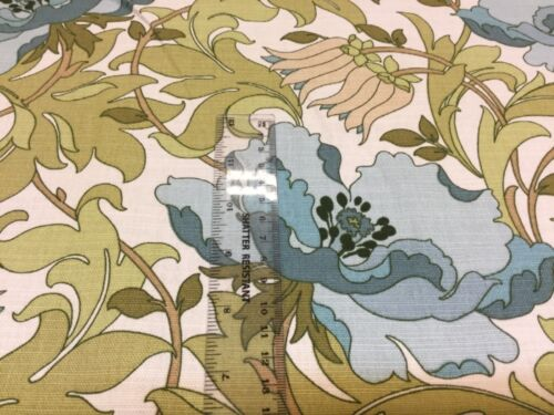 SMD iLiv ART DECO Floral  Cotton Fabric,Upholstery//Curtains//Cushion//Craft