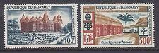Dahomey Sc C14-C15 MNH. 1960 Air Post pictorials, cplt set, VF