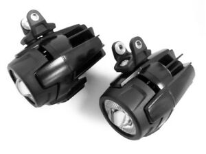 2-FARETTI-MOTO-LED-FARO-OMOLOGATI-CABLAGGIO-COMPLETO-BMW-GS1200-F800-650-LC1200